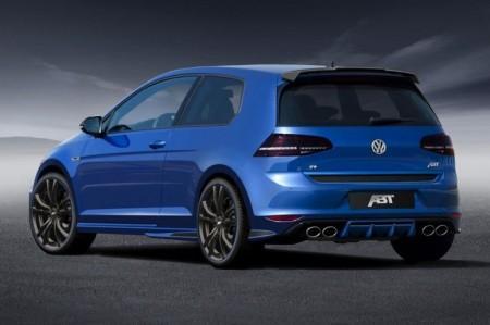 Volkswagen Golf VII R Evo от ателье АВТ: вид сзади