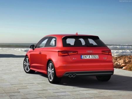 Audi A3 (8V): вид сзади