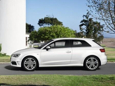 Audi A3 (8V): вид сбоку