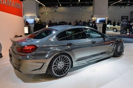 BMW M6 Gran Coupe Mirr6r от Hamann: вид сзади