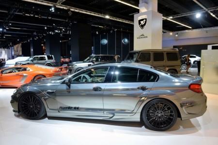 BMW M6 Gran Coupe Mirr6r от Hamann: вид сбоку