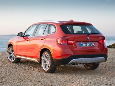 BMW X1 (E84): вид сзади