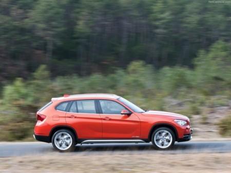 BMW X1 (E84): вид сбоку