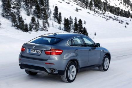 BMW X6 (E71): вид сзади