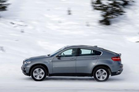 BMW X6 (E71): вид сбоку