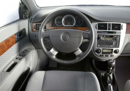 Chevrolet Lacetti: салон