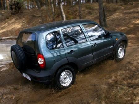 Chevrolet Niva: вид сзади