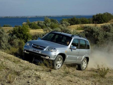 Chevrolet Niva: вид спереди