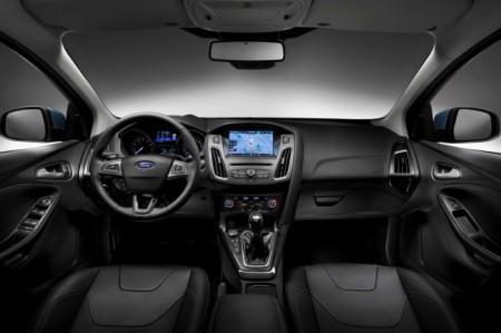Форд Фокус 3 (2015): салон