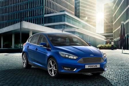 Форд Фокус 3 (2015): вид спереди