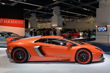 Hamann Nervudo (тюнинг Lamborghini Aventador): вид сбоку
