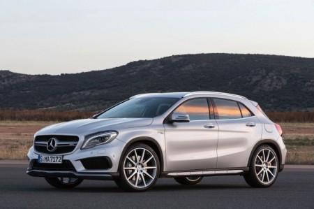 Mercedes-Benz GLA 45 AMG: экстерьер
