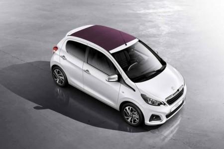 Peugeot 108: вид сверху