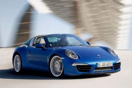Porsche 911 (991) Targa: экстерьер