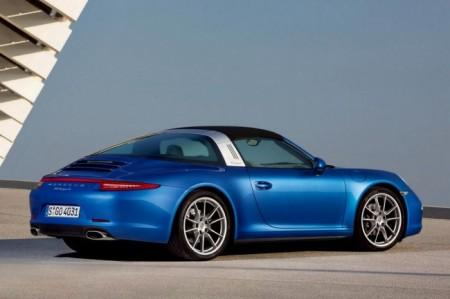 Porsche 911 (991) Targa: дизайн экстерьера