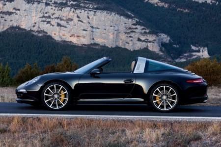 Porsche 911 (991) Targa: вид сбоку