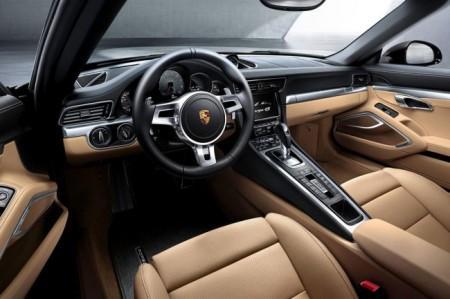 Porsche 911 (991) Targa: салон