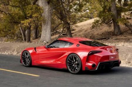 Toyota FT-1 Concept: вид сзади