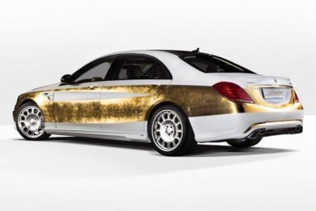Mercedes S-Class W222 от Carlsson: золотой кузов