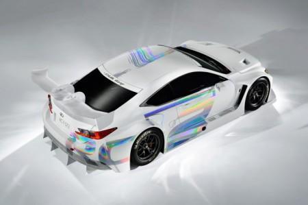 Лексус RC F GT3: экстерьер