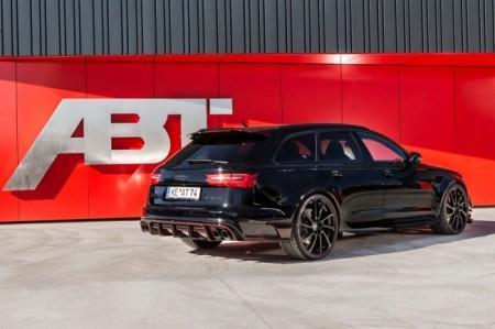 Audi RS6-R от ателье ABT: вид сзади