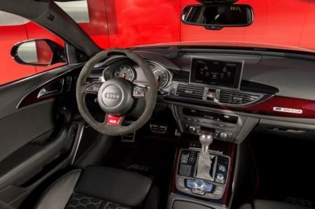 Audi RS6-R от ателье ABT: салон