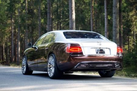 Bentley Flying Spur W12 от Mansory: вид сзади