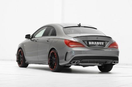 Brabus Mercedes-Benz CLA 45 AMG: вид сзади