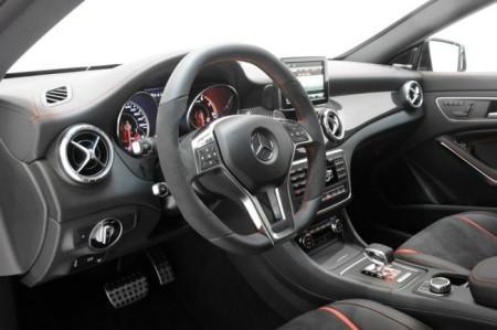 Brabus Mercedes-Benz CLA 45 AMG: салон
