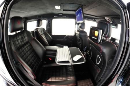 Brabus 800 iBusiness на базе G65 AMG: салон