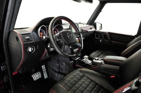 Brabus 800 iBusiness на базе G65 AMG: интерьер