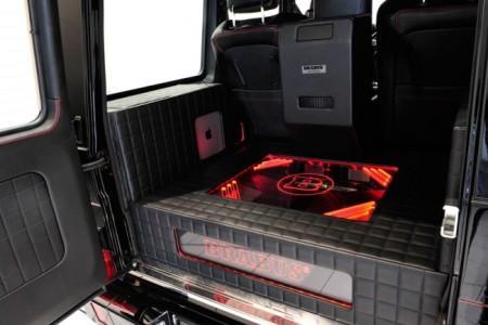 Brabus 800 iBusiness на базе G65 AMG: багажник