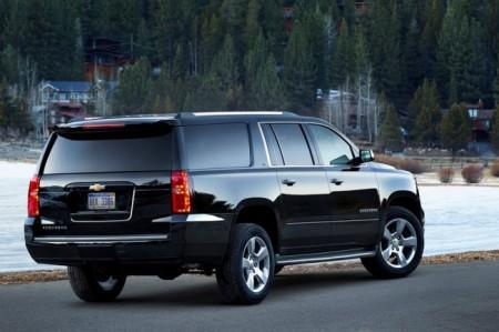 Chevrolet Tahoe 4: вид сзади