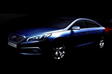 Hyundai Sonata 7 поколения: первый скетч