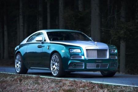 Rolls-Royce Wraith от Mansory: экстерьер