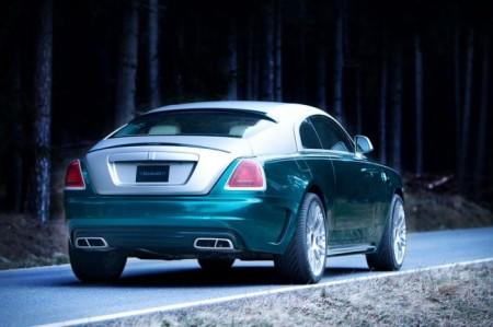 Rolls-Royce Wraith от Mansory: вид сзади