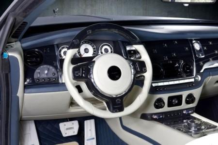 Rolls-Royce Wraith от Mansory: салон