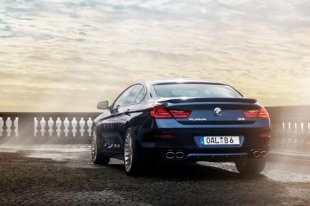 BMW B6 Gran Coupe от Aplina: вид сзади