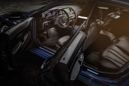 BMW B6 Gran Coupe от Aplina: салон