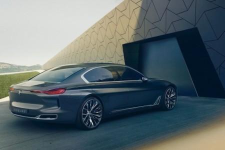 BMW Vision Future Luxury: вид сзади