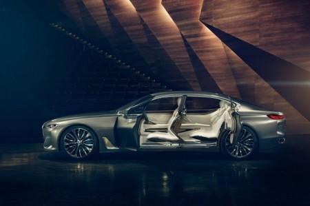 BMW Vision Future Luxury: открытые двери