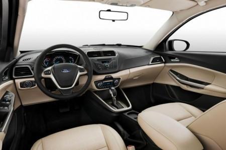 Форд Эскорт 2015: салон