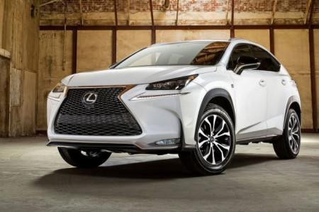 Lexus NX: вид спереди