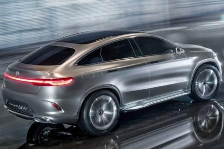 Mercedes MLC: вид сзади