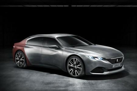 Peugeot Exalt Concept: экстерьер