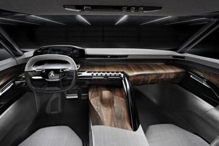 Peugeot Exalt Concept: салон