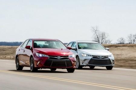 фото рестайлинга Toyota Camry