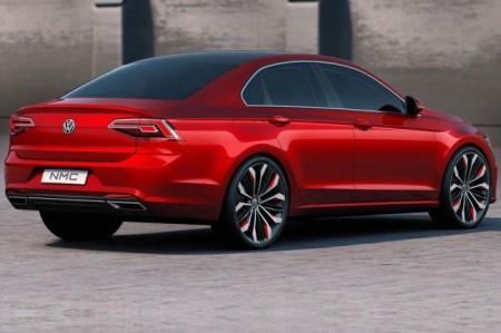 Volkswagen New Midsize Coupe: вид сзади