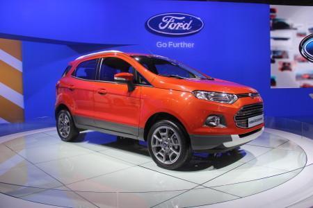 Форд ЭкоСпорт на ММАС 2014