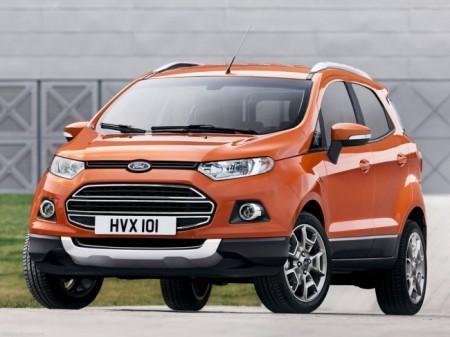 Форд ЭкоСпорт: вид спереди